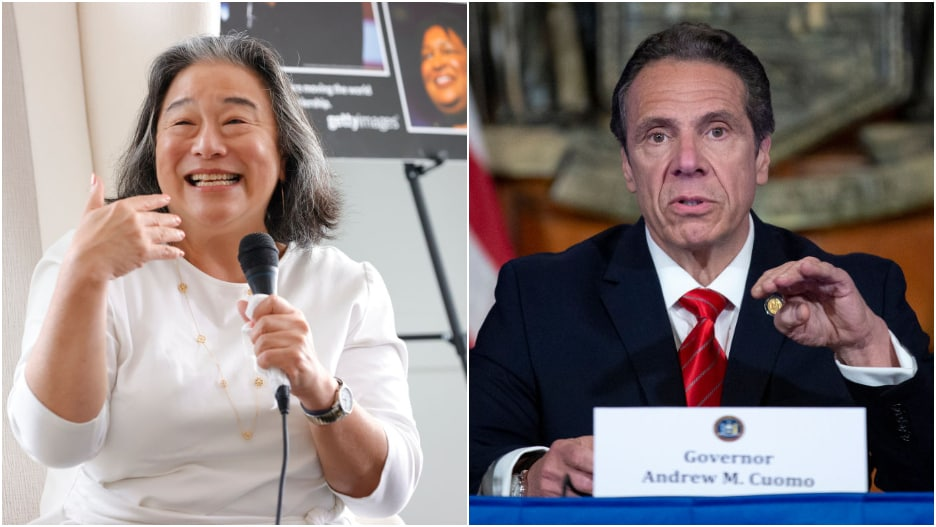 Tina Tchen Andrew Cuomo Time's Up