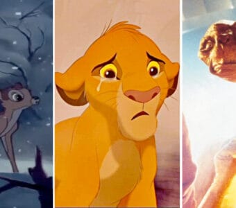 kids movie death e.t. bambi lion king
