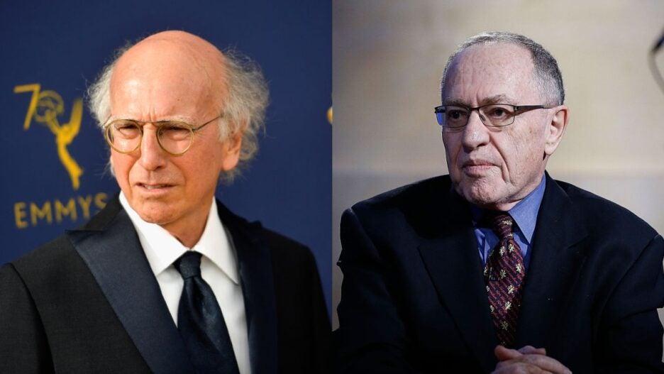 larry david alan dershowitz