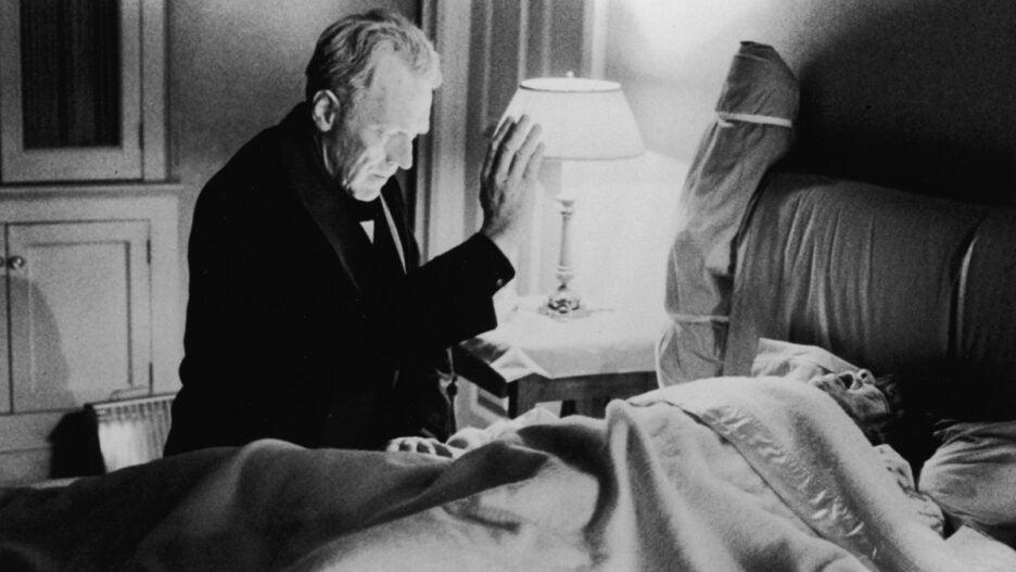 max von sydow linda blair the exorcist 1973