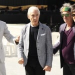 The Rolling Stones members Mick Jagger, Charlie Watts, Keith Richards and Ronnie Wood in 2014