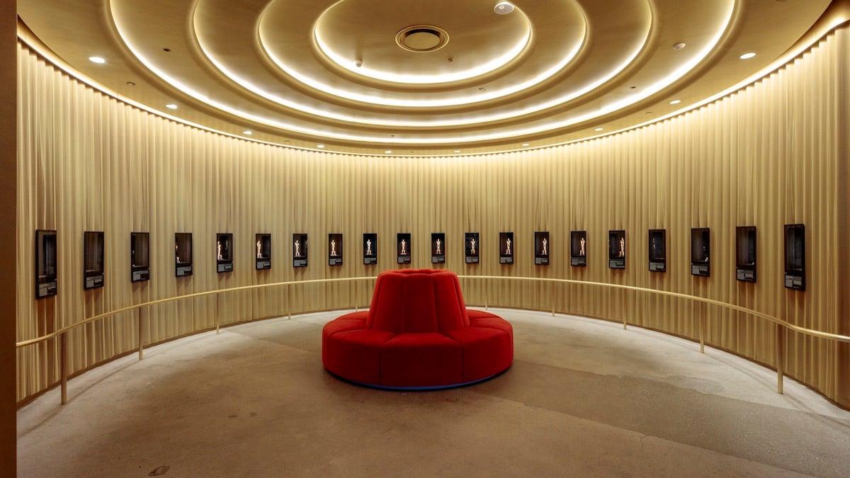 Academy Museum - Oscar room