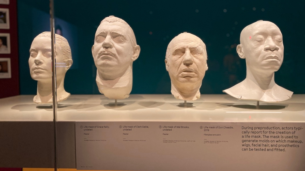 Academy Museum - life masks