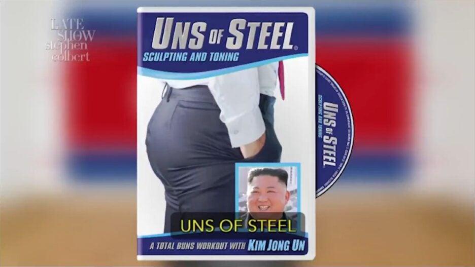 Colbert Kim Jong-un Weight Loss