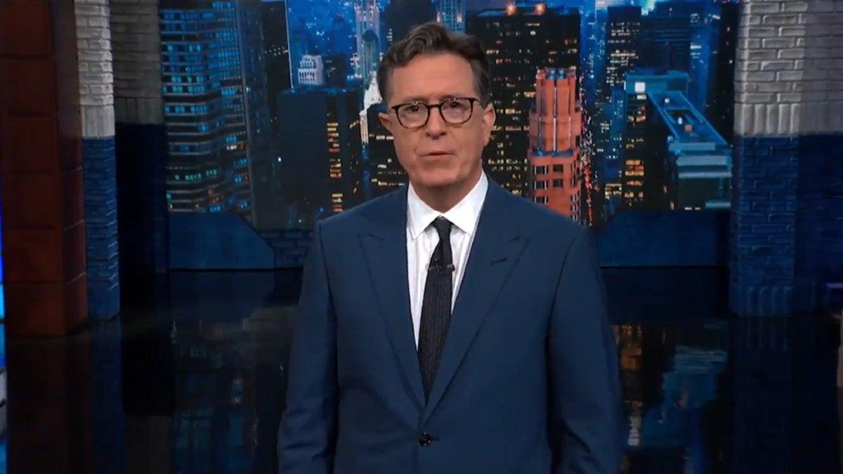 Colbert Looks Back on His Quarantine Shows
