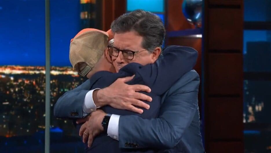 Colbert Steve Blue's Clues