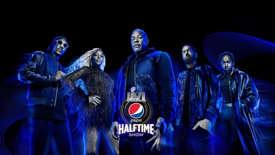 Super Bowl Halftime Show 2022