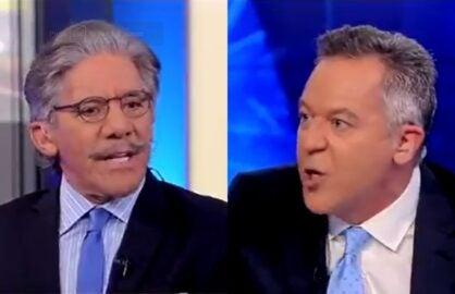 Geraldo Greg Gutfeld Shouting Fox News The Five