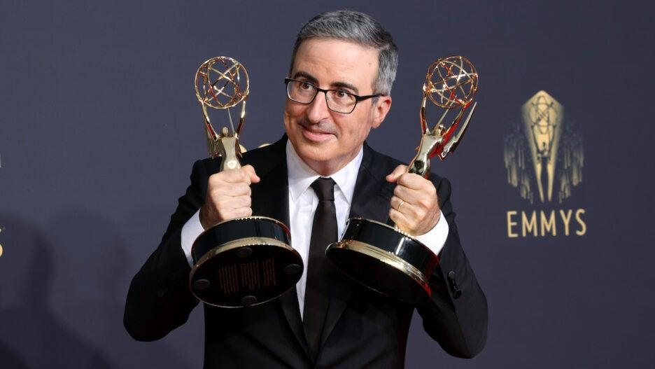 John Oliver Emmys Adam Driver