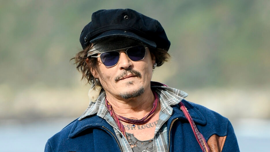 Johnny Depp - Donostia Award Photocall - 69th San Sebastian Film Festival Cancel Culture