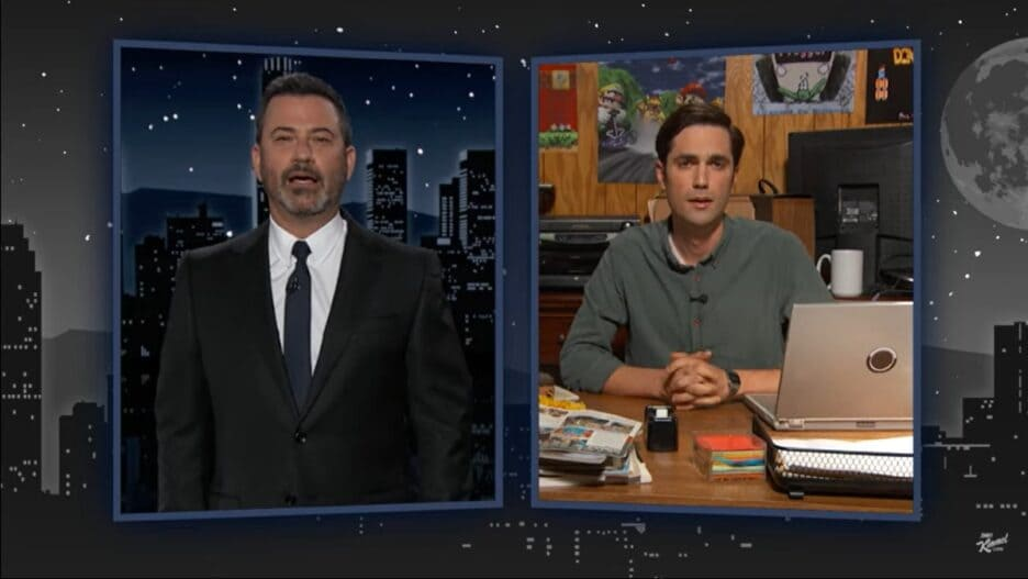 Jimmy Kimmel Super Mario