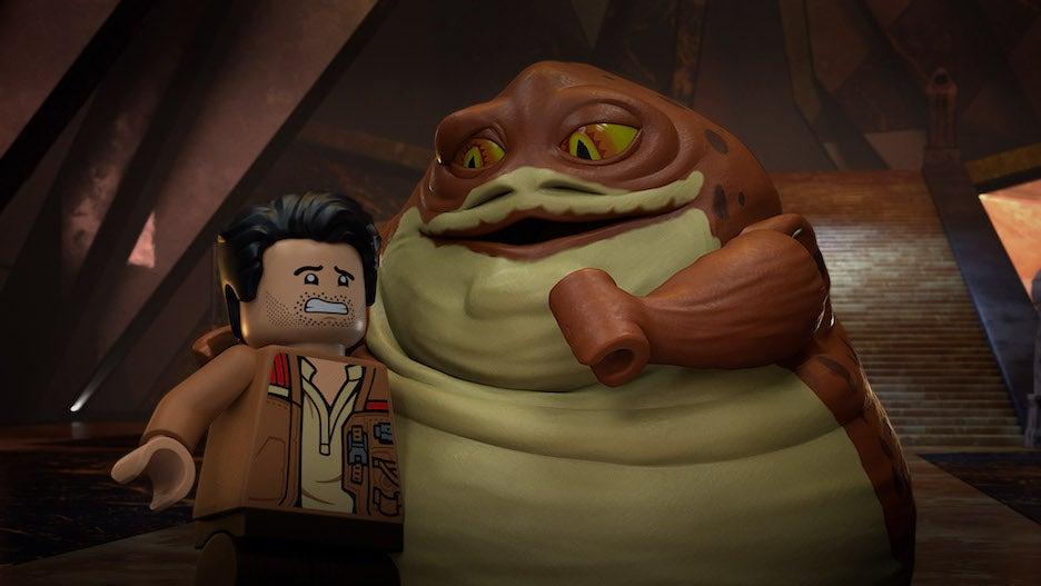 'LEGO Star Wars Terrifying Tales' Trailer: Poe Checks Into Darth Vader-Themed Resort for Disney+ Halloween Special (Video).jpg