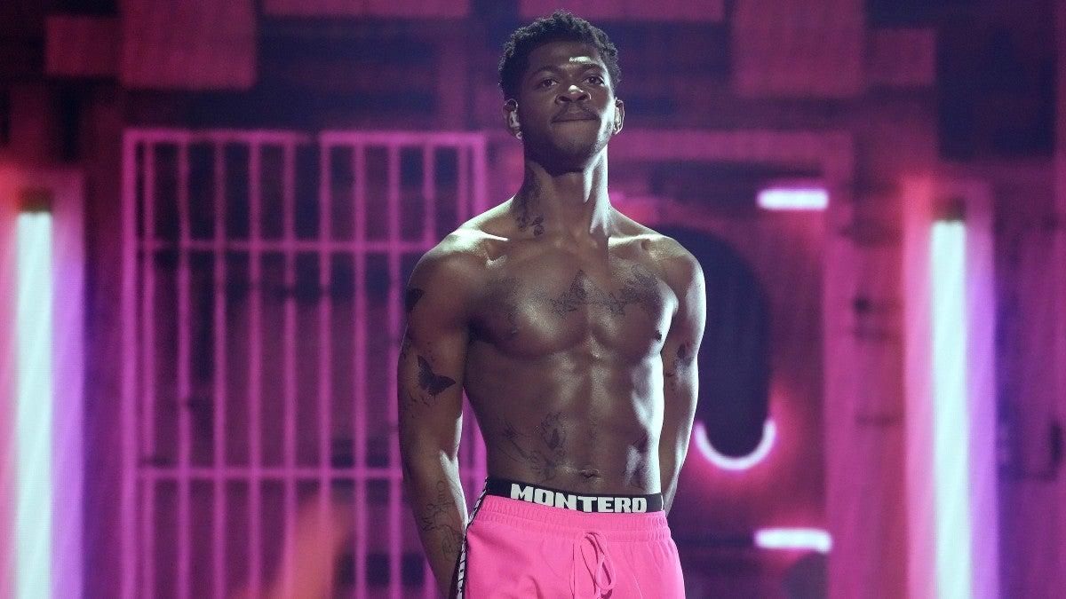 Lil Nas X's VMAs Performance Draws SpongeBob Comparisons – and Some NSFW Feelings.jpg