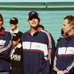"""Mardy Fish and Andy Roddick in """"Untold: Breaking Point"""""""