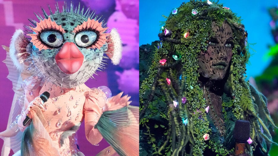 Masked Singer Mother Nature Pufferfish