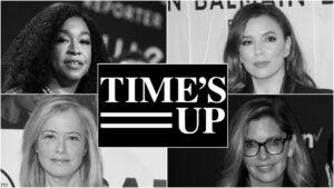 Shonda Rhimes Eva Longoria Hilary Rosen Katie McGrath Time's Up