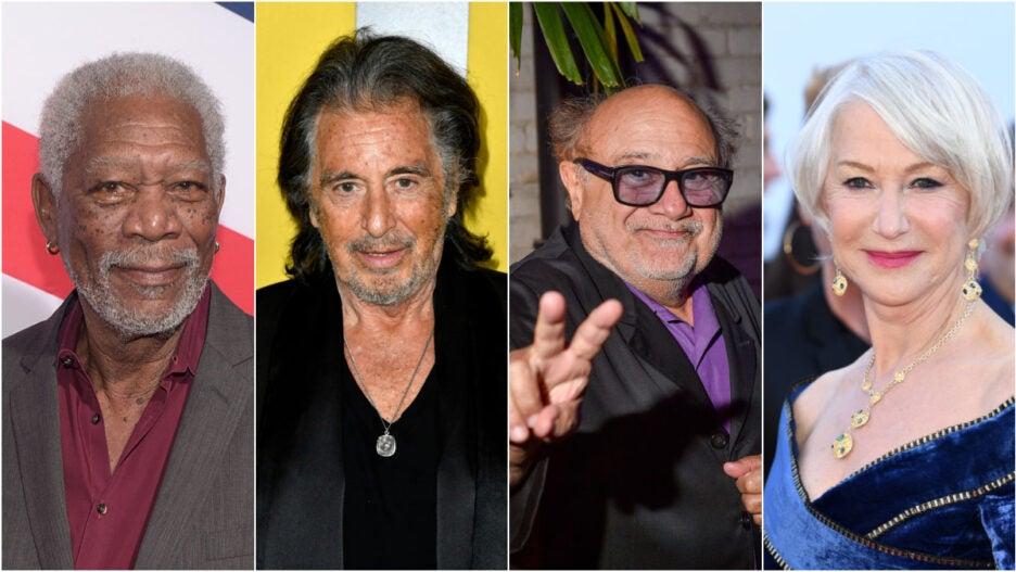 Sniff Morgan Freeman Helen Mirren Danny DeVito Al Pacino(1)