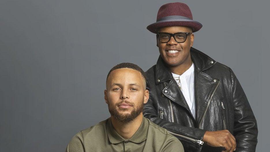 Stephen Curry and multi-creative Erick Peyton unanimous media