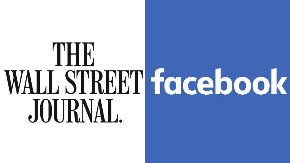 WSJ Wall Street Journal Facebook