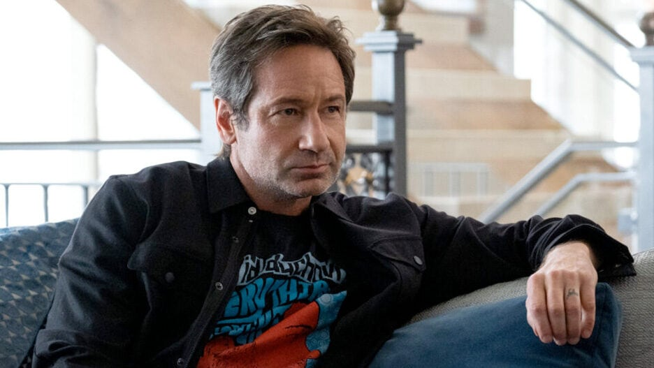 david duchovny the chair