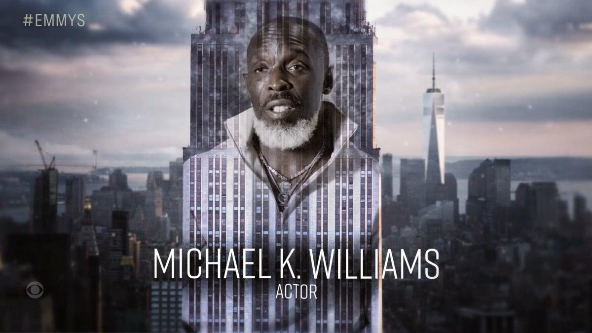 emmys 2021 in memoriam michael k williams