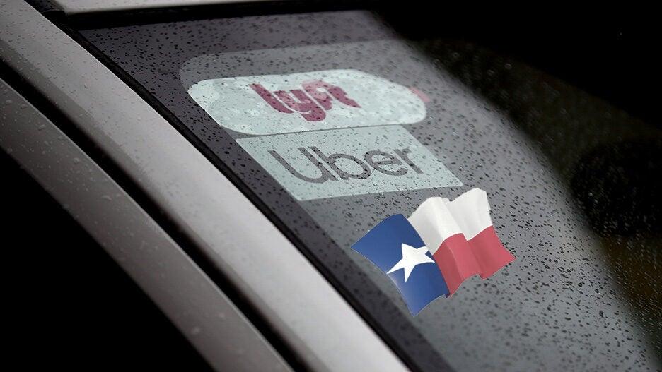 lyft uber texas