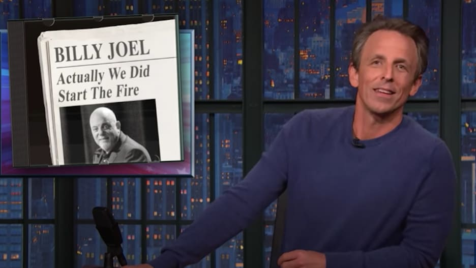 Seth Meyers Turns Billy Joel Classic Into Climate Change Anthem: 'Actually We Did Start the Fire' (Video).jpg