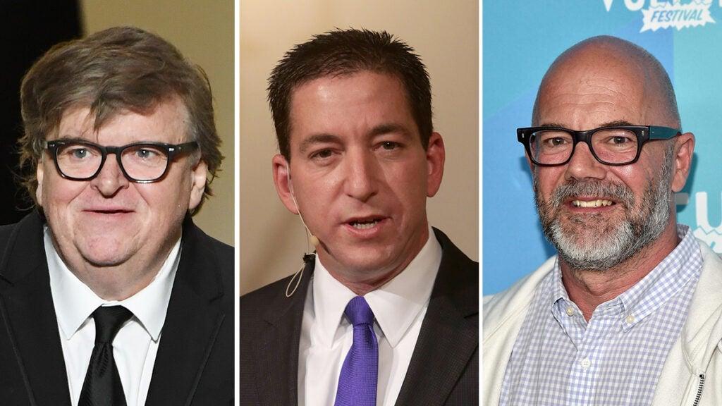 substack michael moore, Glenn Greenwald and Andrew Sullivan