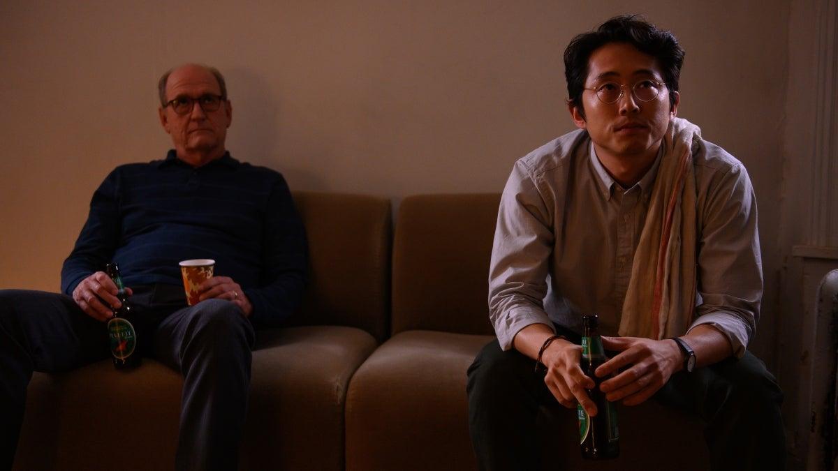 The Humans Richard Jenkins Steven Yeun