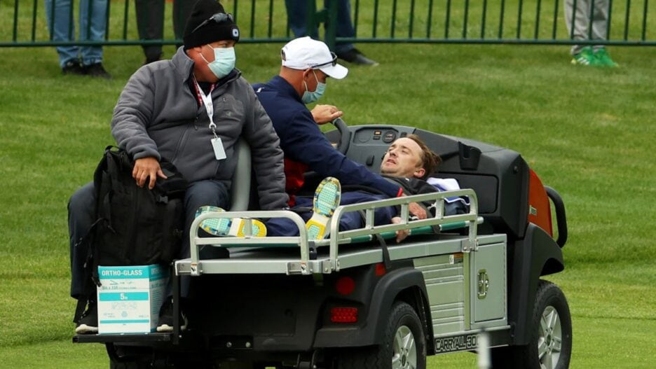 Harry Potter' Star Tom Felton Carted Off After Collapsing at Ryder Cup Golf  Event