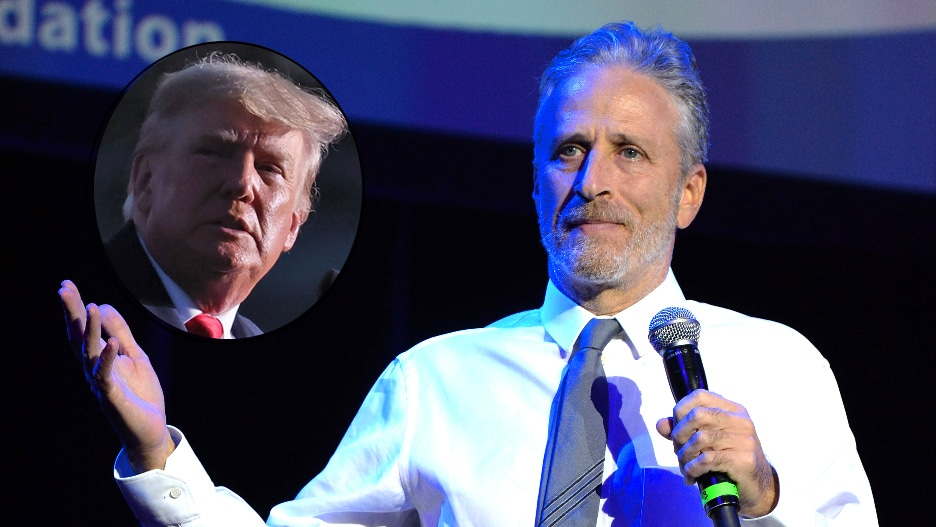 Jon Stewart Donald Trump