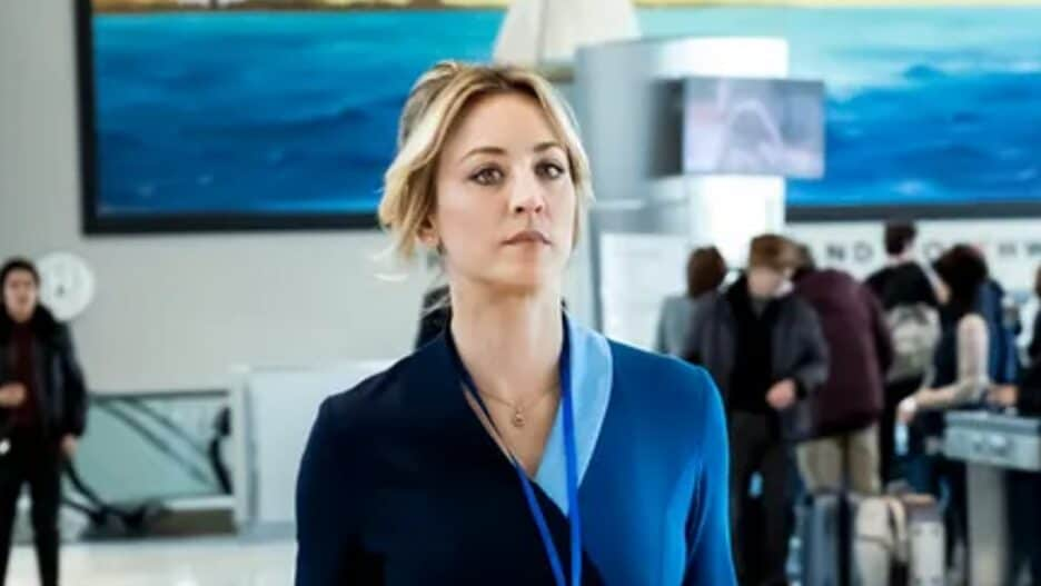 """Kaley Cuoco in HBO Max series """"The Flight Attendant"""""""