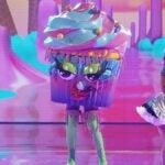 Masked Singer Cupcake