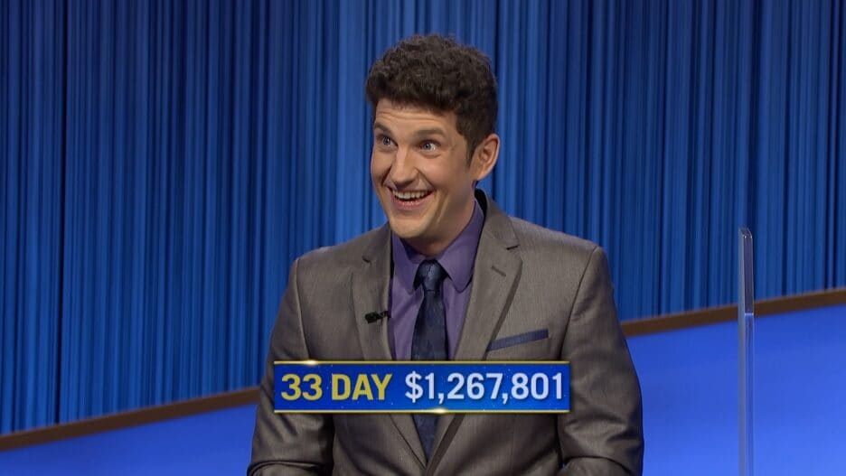 Matt Amodio jeopardy