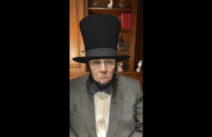 Rudy Giuliani Weird Abe Lincoln