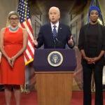 SNL cold open James Austin Johnson as Joe Biden
