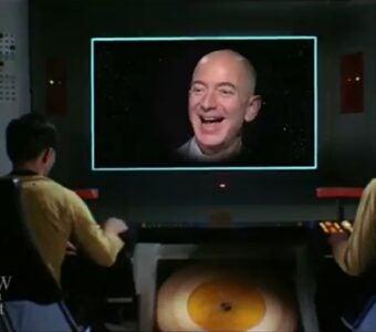 The Late Show Colbert Bezos Shatner