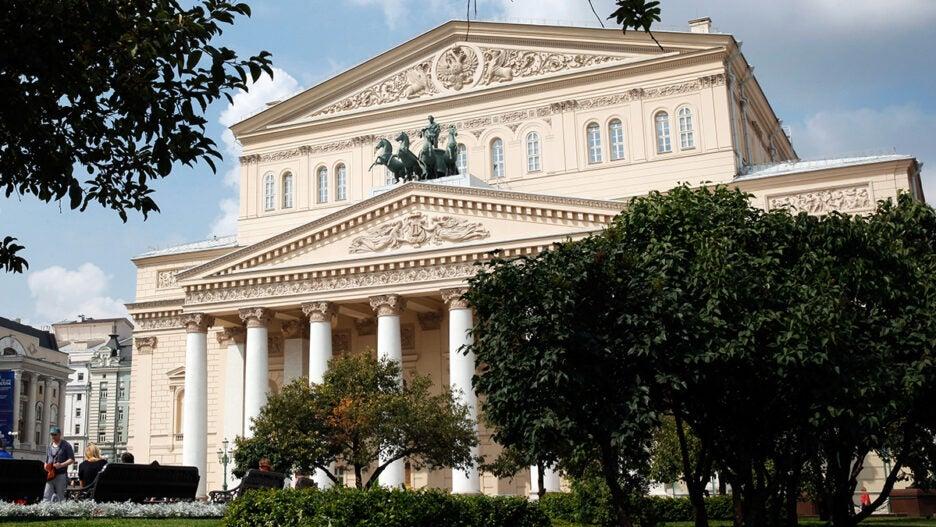 bolshoi theater russia
