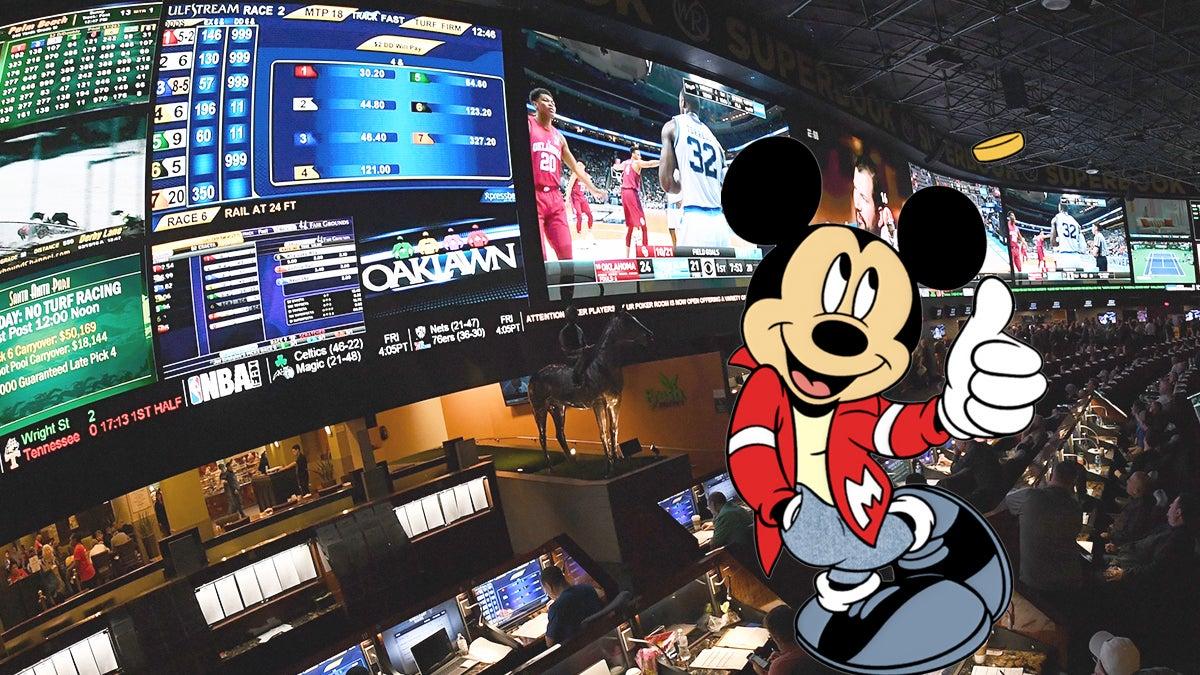 espn sports betting disney