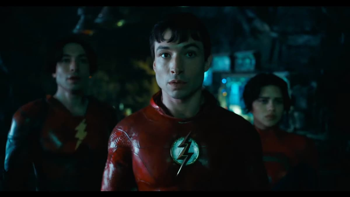 Michael Keaton Teams Up With Ezra Miller (and Ezra Miller) in 'The Flash' Movie First Teaser.jpg